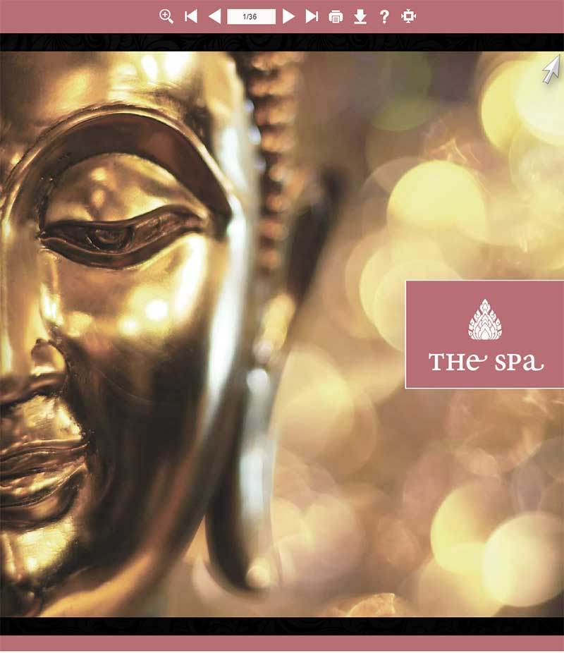 Brochure The Spa at the Four Seasons Chiang Mai