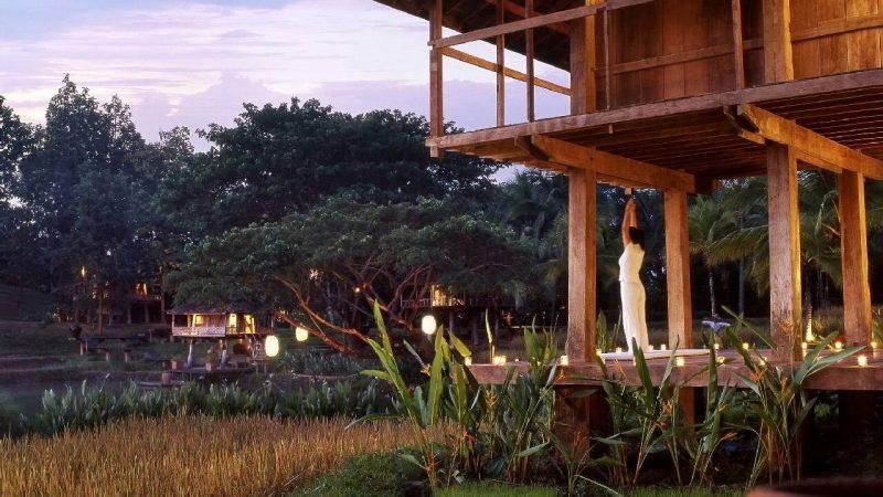 Yoga at the Four Seasons Resort Chiang Mai