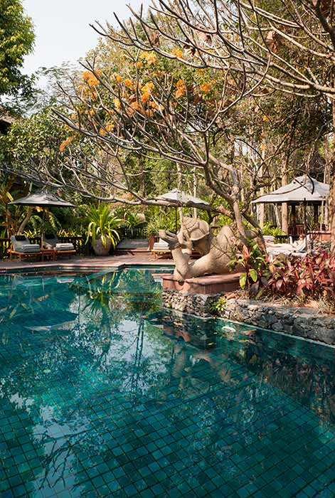 Luxury swimming pool Chiang Mai