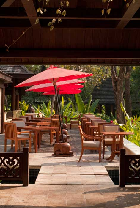 Four Seasons Chiang Mai restaurants and Bars