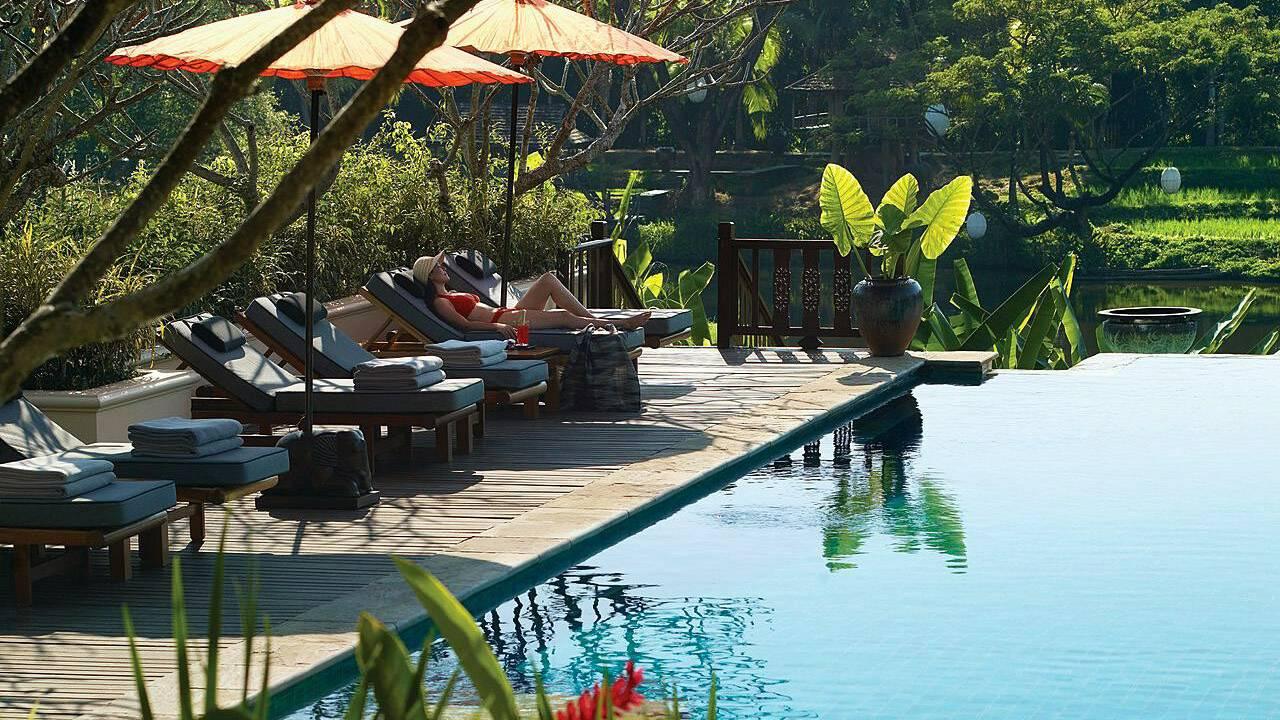 Four Seasons Chiang Mai swimming pool