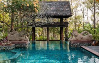 Private swimming pool residence Four Seasons Chiang Mai